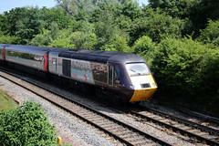 43301 British Railways / Paxman Class 43 HST, Cross Country Trains, Filton Abbey Wood, Filton, Gloucestershire (Kev Slade Too) Tags: 43301 britishrailways class43 hst crosscountrytrains bombardier voyager dmu iv50 filtonabbeywood bristol gloucestershire