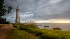 A Light in the Harbor (Simmie | Reagor - Simmulated.com) Tags: 2018 connecticut connecticutphotographer fivemilepointlight june landscape landscapephotography lighthousepointpark lighthouse nature naturephotography newengland newhaven outdoors park spring sunset unitedstates beach ctvisit digital wwwsimmulatedcom