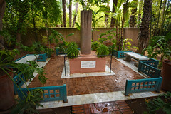 YSL: Yves Saint Laurent Garden (scuba_dooba) Tags: africa morocco shop marrakesh north ysl yves saint laurent garden majorelle jardin
