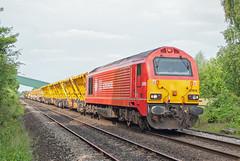 DB Cargo Class 67 67018 'Keith Heller' (Barry Duffin) Tags: train railway dbcargo class67 67018 6x55 beeston toton nottingham attenborough 35mm