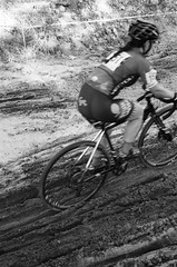 000131350002 (Harry Toumbos Photo) Tags: 35mm film ilford hp5 canon fd a1 f1 50mmf12l 35105mmf35 cycling cyclocross adelaide nationals