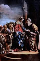 IMG_2333 Guercino (Giovanni Francesco Barbieri) 1591-1666 Bologne et Rome La Visitation. The Visitation  1632 Rouen Musée des Beaux Arts. (jean louis mazieres) Tags: peintres peintures painting musée museum museo france normandie rouen muséedesbeauxarts guercino