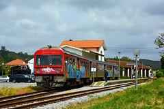 CP 9630 (Nelso M. Silva) Tags: cp 9630 vouginha macinhata linha vouga automotora diesel comboio