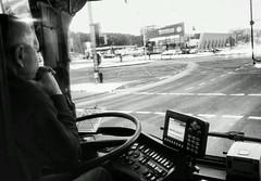 busman. (B-napril) Tags: busman thoughts oldman bus