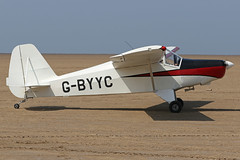 G-BYYC (QSY on-route) Tags: gbyyc lancashire landing 2018 fly in knott end beach airfield 09062018