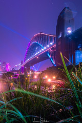 Sydney Harbour Bridge Vivid 2018 (leonsidik.com) Tags: leon sidik fujifilm landscape sydney australia nsw newsouthwales harbourbridge night long exposure lights