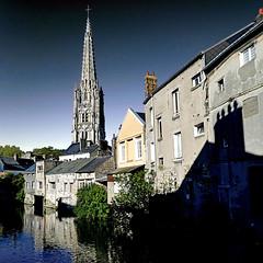 Harfleur, France (pom'.) Tags: communautédagglomérationhavraise may 2018 seinemaritime 76 normandie france church saintmartin eglisesaintmartin panasonicdmctz101 lehavre europeanunion 14thcentury 15thcentury 16thcentury 100 200 300 river lalézarde harfleur