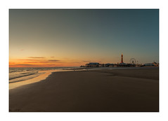 blackpool at sunset (markmcneill22) Tags: lancashire blackpool landscape nikon seascape sunset f11 tower water seascapes sea seaside pier uk great britain