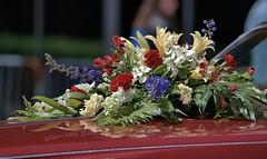 Pretty Hood Decorations (Scott 97006) Tags: flowers bouquet car hood pretty beauty decoration parade