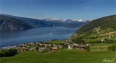 Nordfjord 100, Norway (AdelheidS Photography) Tags: adelheidsphotography adelheidsmitt adelheidspictures norway norge noorwegen noruega norwegen norvegia nordic norvege norden nordfjord village fjord utvik utvikfjellet farms scenery canong1x