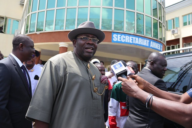 HSDickson- Unexpected visit to ministries by the Governor of Bayelsa state 8th June 2018