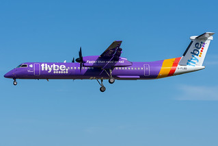 G-FLBD FlyBE Bombardier Dash 8-Q400 Southampton Eastleigh