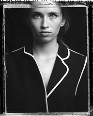 M. (denzzz) Tags: portrait polaroid polaroid55 negativescan blackwhite blackandwhite skancheli 4x5 largeformat instantfilm filmphotography analogphotography wista45dx walimex daylight1260