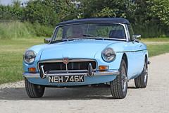 MG  MGB (Roger Wasley) Tags: mg mgb classic car toddington gloucestershire