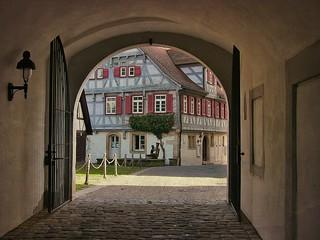 GERMANY,  Waldenbuch, altes Pfarrhaus (1720), 76224/10142
