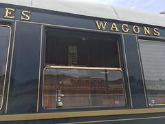 """Our"" window (goforchris) Tags: trains trainjourneys orientexpress venicesimplonorientexpress londonvenice vintage glamour lugano"