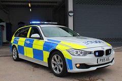 PX15 AOL (Ben Hopson) Tags: cumbria constabulary police bmw 330d traffic car motor patrols 999 rpu roads policing unit 2015 15 blue lights light parked grille px15 aol px15aol