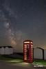 Is that long distance ? (macdad1948) Tags: devon night telephonebox budleighsalterton milkyway otter stars tracker sunrise ottermouth astro widefieldastrophotgraphy starscapes skywatcheradventurer explored