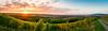 Sonnenuntergang Schönberg // Freiburg St. Georgen (freiburgfreak) Tags: freiburg freiburgfreak sonne sonnenuntergang weinberg stgeorgen weinberge sommer breisgau badenwürttemberg panorama wolken goldenestunde sommertag
