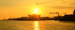 Titanic Museum (Mark McCourt) Tags: sunrise titanic belfast