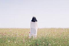 (Hsien hui Tsai) Tags: taiwan taipei film filmphotography photography nikon nikonem em kodak kodakcolorplus kodak200 backportrait life flower plant girl 2018