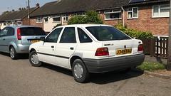 (Sam Tait) Tags: ford escort mk5 white l 14 1991