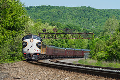 F's on the Pennsy (Nolan Majcher) Tags: ns norfolk southern 950 4270 ocs office car special executive train mapleton pa pennsylvania
