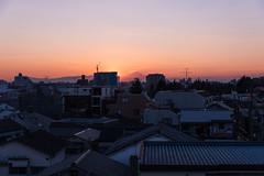 Sunset Fuji San Over Tokyo City (Pop_narute) Tags: tokyo japan city cityscape fuji mountain fujisan urban life sunset sky