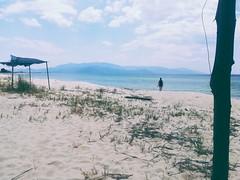 🌊 (__jo_) Tags: sealife sea sun summervibes summer greece hellas macedonia clouds cloud beachlife beach blue sand