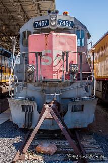 SP 7457   EMD SD45R   Utah State Railroad Museum