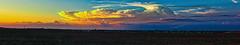 2018-05-30 (Gregg Kiesewetter) Tags: illinoisthunderstorms weather weatherphotography storms cloudsstormssunsetssunrises sunset normalillinois panoramic hugin aurorahdr2018