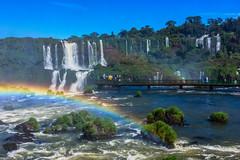 Shine a light (*Capture the Moment*) Tags: 2016 brasilien brazil bäume fozdeiguazu iguacu jungle landschaften rainbow regenbogen sonne sonye18200mmoss sonynex7 sun trees urwald wasserfälle waterfalls wetter