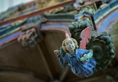 Le jubé de la chapelle de St-Fiacre (pontfire) Tags: jubé chapelle de stfiacre bretagne morbihan du xve siècle art arts color wood bois histoire church