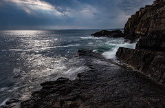 longexposure (khan.Nirrep.Photo) Tags: bretagne breizh bleu blue rocks rochers roscanvel water waves falaise finistère sky seascape sea presquile paysage canon6d canon1635mm ciel flickrunitedaward flickrsbest