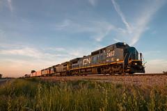 A Dashing Set of Dash 8s (Jake Branson) Tags: train railroad locomotive ge dash 8 c408w c408m barn cown 2411 cn canadian national lms gecx conrail csx zebra cowl illinois savoy champaign subdivision il ic 2457 central