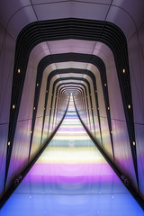 Interstellar (Rich Walker75) Tags: lighttunnel stpancras kingscross light tunnel abstract manipulation photography london england architecture canon efs1585mmisusm eos eos80d