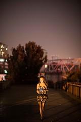 20180524-BX6I4541 (mika #) Tags: china beijing night beijingshi cn 798 art zone bridge heels stockings fishnet phone dress canon 1dxmarkii 85mm f12