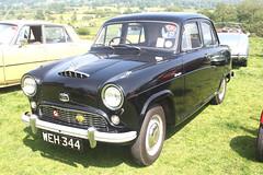 Austin A40 Cambridge. (Yesteryear-Automotive) Tags: austin of england a40 cambridge 1955 bmc family saloon car motorcar