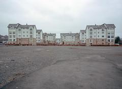 Stirling, Scotland. (wojszyca) Tags: fuji gsw680iii 6x8 120 mediumformat fujinon sw 65mm kodak portra 400 gossen lunaprosbc epson v800 city urban housing urbanlandscape stirling scotland