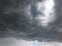 May 23, 2018 - Ominous clouds. (LE Worley)
