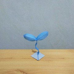 春之希望 (guangxu233) Tags: origami origamiart paper art paperart paperfolding 折纸 折り紙 折り紙作品