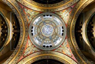 Dôme de la Basilique Sainte-Thérèse de Lisieux, Normandie