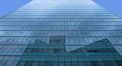 Facade Mirror (CoolMcFlash) Tags: reflection facade glass building architecture window blue vienna canon eos 60d front spiegelung fenster fassade glas gebäude architektur modern blau wien fotografie photography lowangleview sigma 1020mm 35 texture textur pattern muster