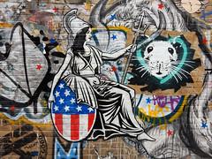 Reina (aestheticsofcrisis) Tags: street art urban intervention streetart urbanart guerilla guerillaart graffiti postgraffiti london uk shoreditch hackney brick lane pasteup wheatpaste