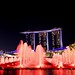 ..colorful skyline of Singapore..
