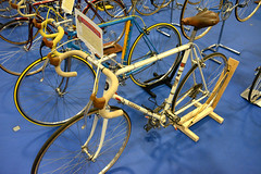 CR2018-2010a Cinelli with drilled crank arms 1971 - Steve Beasley (kurtsj00) Tags: cinelli with drilled crank arms 1971 steve beasley classic rendezvous 2018 vintage lightweight bicycles bike