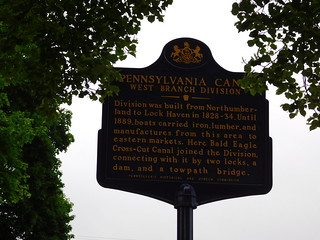 Pennsylvania Canal Historic Marker