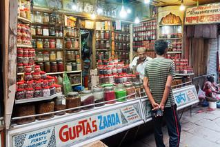 Street seller of Varanasi..India