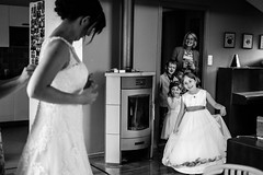 Wed (I.Dostál) Tags: yellow wedding bride view fun prepare
