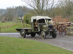 1915 Thorneycroft Flatbed (Terry Pinnegar Photography) Tags: beamish museum countydurham lorry truck thorneycroft bf8271 ww1 army flatbed cobbles